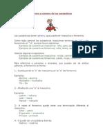 Doc3 Género y Número de Los Sustantivos