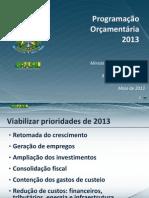 130522 Programacao Orcamentaria 2013