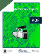 2013 Data Privacy Report