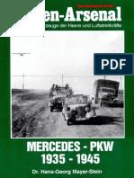 Waffen Arsenal - Sonderband S-59 - Mercedes-PKW 1935-1945