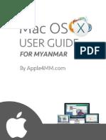 Mac OS X User Guide for Myanmar