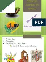 Derecho Agrario en Mexico