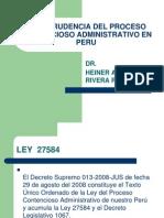 Jurisprudencia Proceso Contenciosoadministrativo y de Amparo