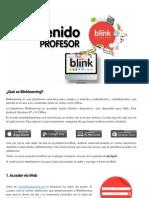 Bienvenido a Blinklearning (Profesor)
