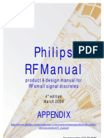 Philips Rf Manual 4th Edition Appendix