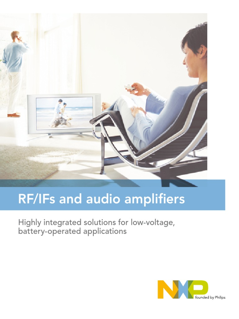 Rf Ifs And Audio Amplifiers Frequency Modulation Amplifier Classd Reference Design Nxp