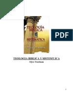 Myer Pearlman - Teología Bíblica y Sistemática
