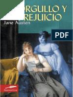 Orgullo y Prejuicio Por Jane Austen