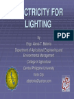 Chapter 05 - Electricity for Lighting