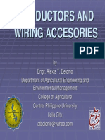 Chapter 03 - Conductors and Wiring Accessories