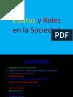 Roles y Estatus