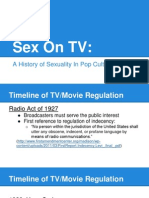 sex on tv presentation