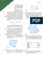 Fluid Mechanics Mass Energy Eq Probs