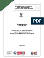 Informe Secretaria General Junio 2014