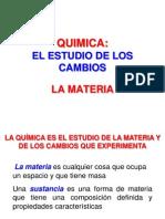 Unidad 01-La Materia, Unidades y Medidas
