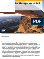 Business Rules Management at SAP - SAP Business Rule Framework Plus C-Level Sales Pitch