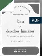 Nino, C., Ética y Derechos Humanos, Cap. VII (Dignidad) _ Asesoría 3