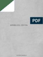 P.P. Panaitescu - Mircea Cel Batran (Bucuresti 1944)