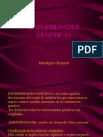 Las Enfermedades Geneticas