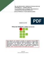 Modelo de Relatório _2012 v2