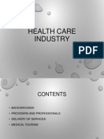 Health Care Industry1
