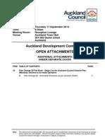 Auckland Development Committee - September Agenda - Extra Attachment