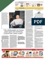 Entrevista Ronald Elward en el Comercio 21 Julio 2014
