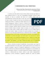 Grisales AdolfoPOÉTICA Y HERMENEUTICA DEL TERRITORIO