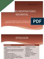 Distres Respiratorio Neonatal
