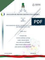Aplicacion Del Metodo Cientifico en El Campo de La Quimica