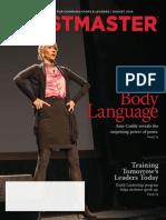Toastmaster Magazine 2014-08