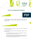 6.Tipos de Contaminación Alimentaria