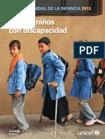 Ninos y Ninas Con Discapacidad