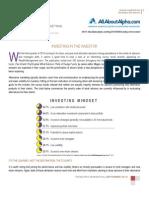 Investing in the Investor