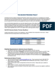 FY12 Intensive Becker Promise Policy