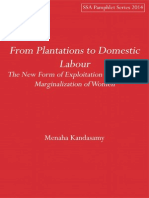 From Plantations to Domestic Labour
