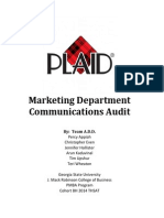 Plaid External Communications