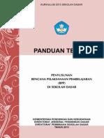 Panduan Teknis Penyusunan RPP SD