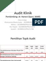 Pemilihan Audit Klinik (Tugas Blok 2) Clara