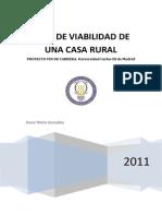 Plan de Viabilidad de Una Casa Rural Proyecto Fin de Carrera