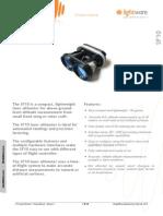 SF10 - Laser Altimeter Manual Rev 1