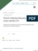 SOLID_ Padrões Flexíveis Para Suas Classes C#