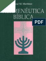 José M. Martínez - Hermenéutica Bíblica