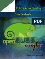 OpenSUSE 13.1 Con Active Directory Guia Ilustrada