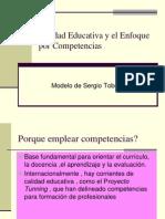 calidadeducativayelenfoqueporcompetenciassergiotobon-120203184410-phpapp02