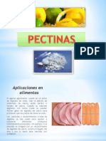 Pectinas y Alginatos