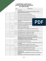 Descripción y Alcance de Los Servicios de Dirección y Supervisión Externa UAQ