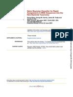 RDP. Appl. Environ. Microbiol. 2007 Wang 5261 7