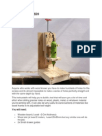 Drill Press For