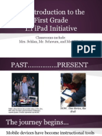 curriculum night 1-1 portion 1st grade